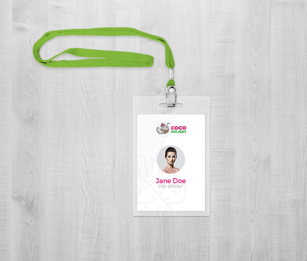 Branding dla biura podróży: identyfikator