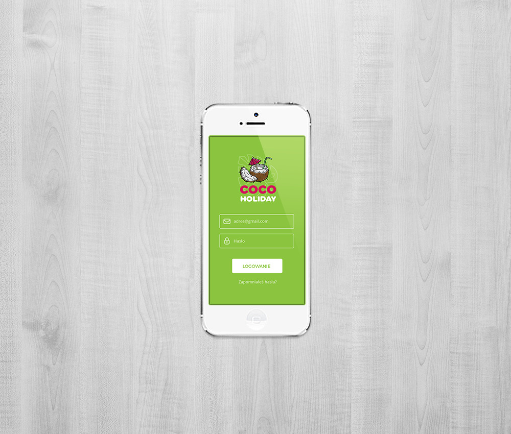 Branding dla biura podróży: aplikacja