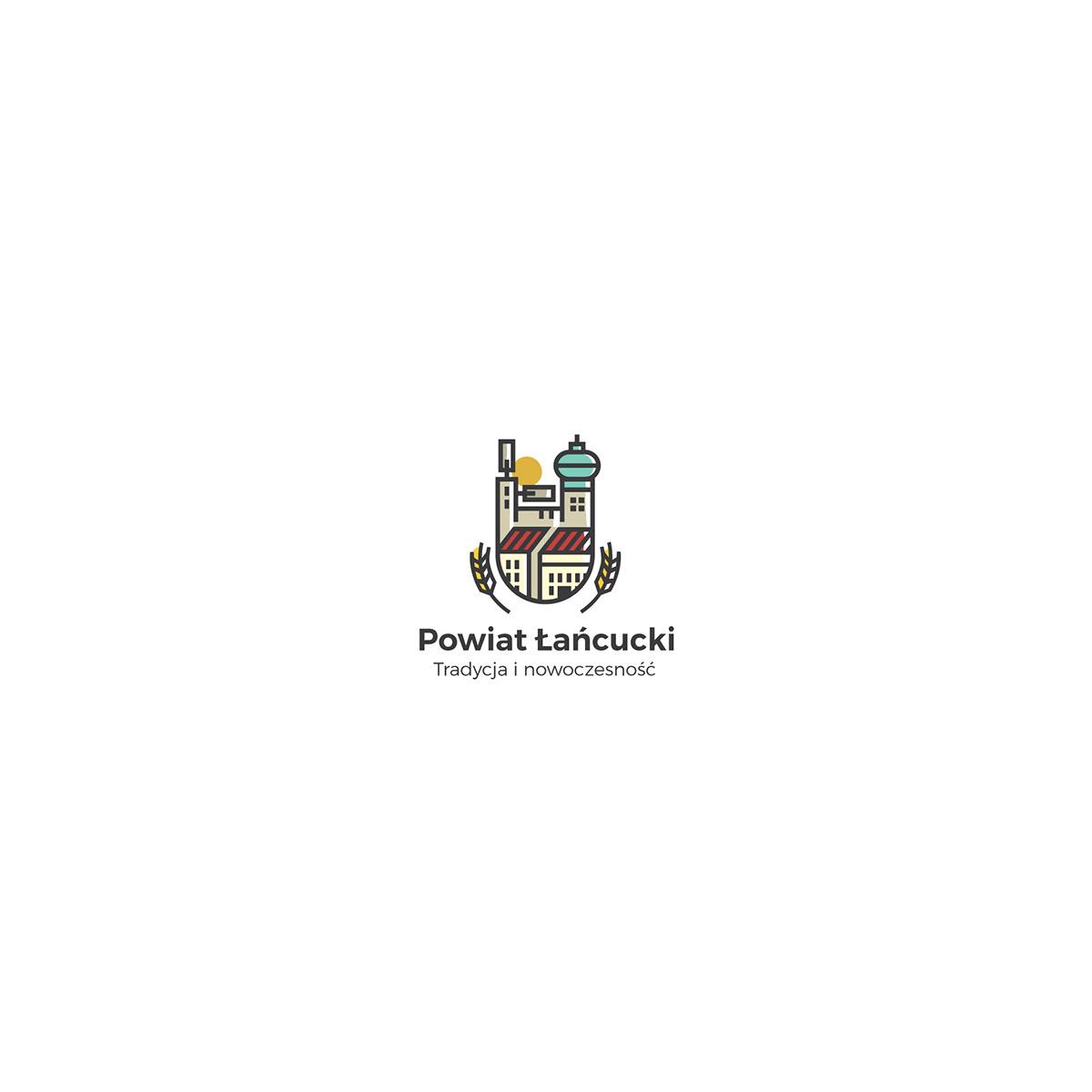 Logo dla powiatu łańcuckiego