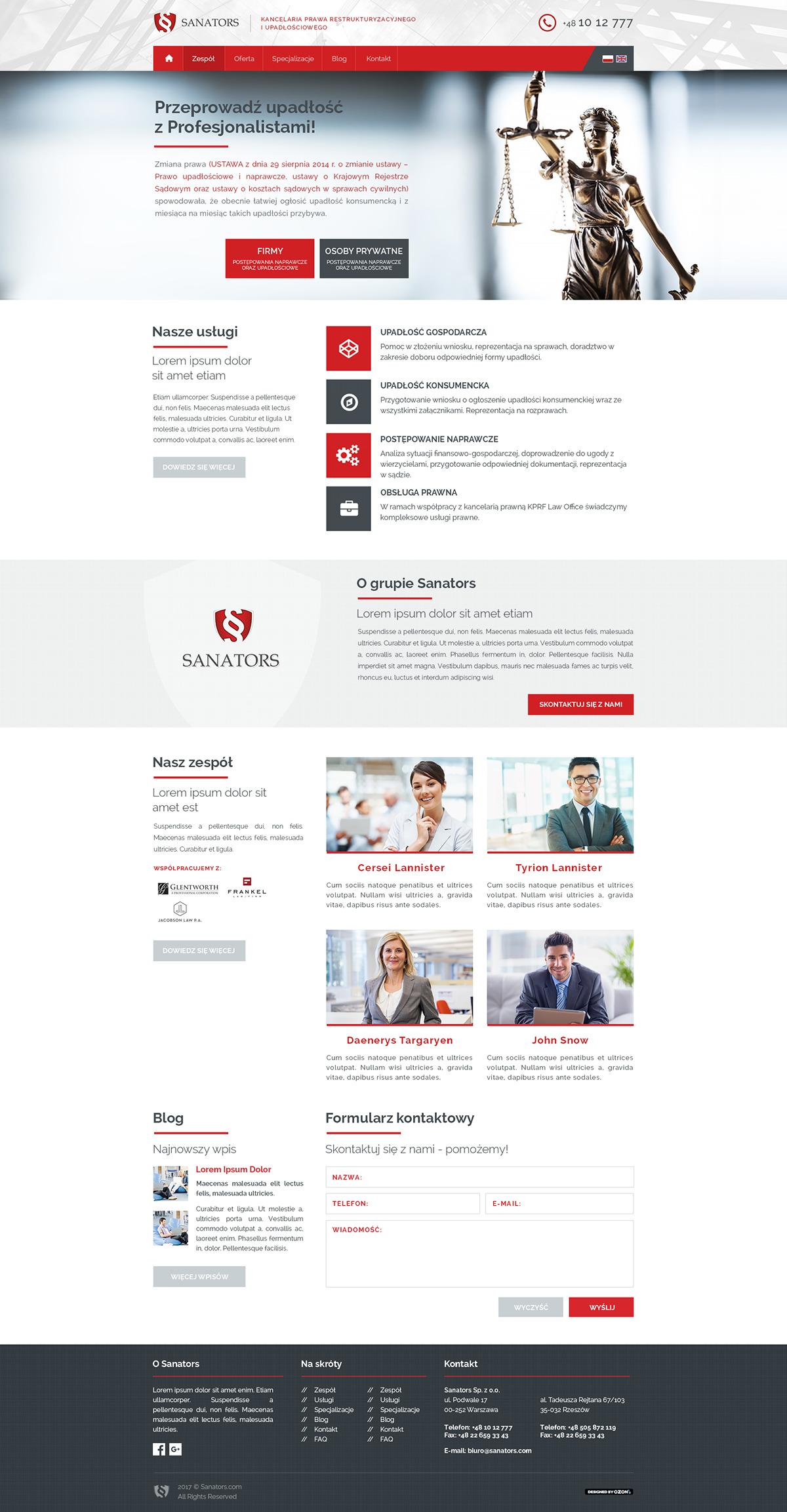 Strona www dla kancelarii